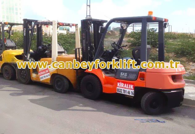 Avrupa Yakası Forklift Kiralama