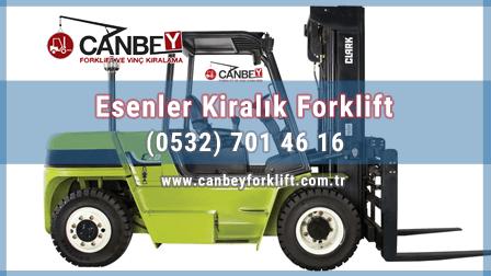 Kiralık Forklift Esenler