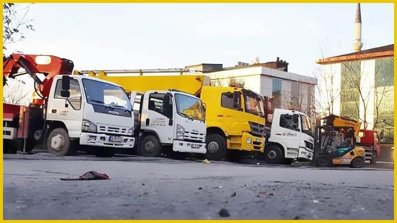 Mecidiyeköy Forklift Kiralama