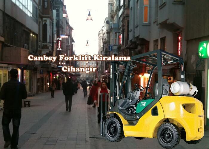 Cihangir Kiralık Forklift