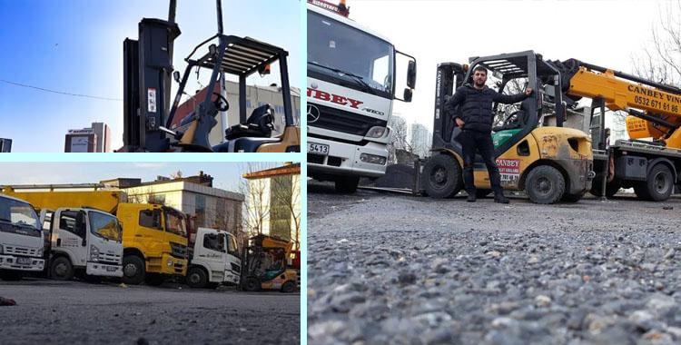Boğazköy Kiralık Forklift
