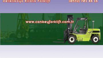 Kiralık Forklift Deliklikaya