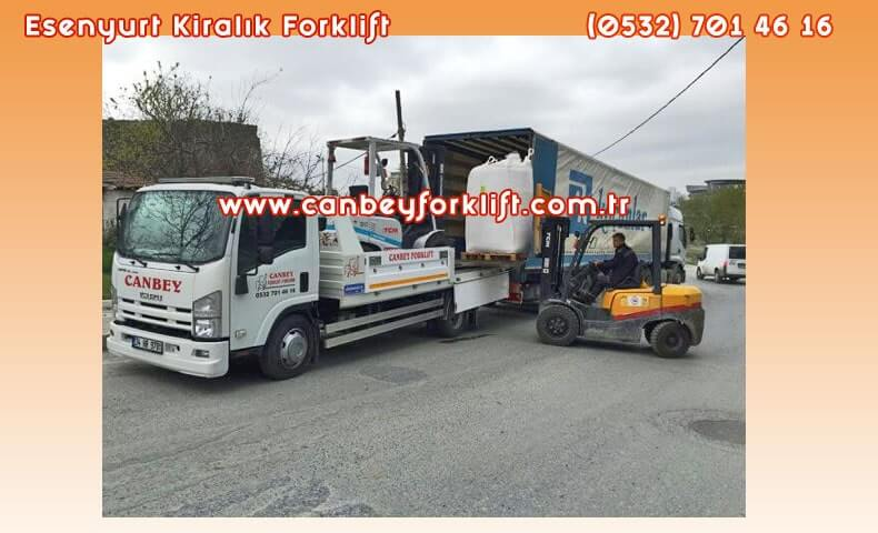 Kiralık Forklift Esenyurt