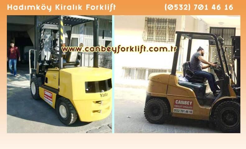 Kiralık Forklift Hadımköy